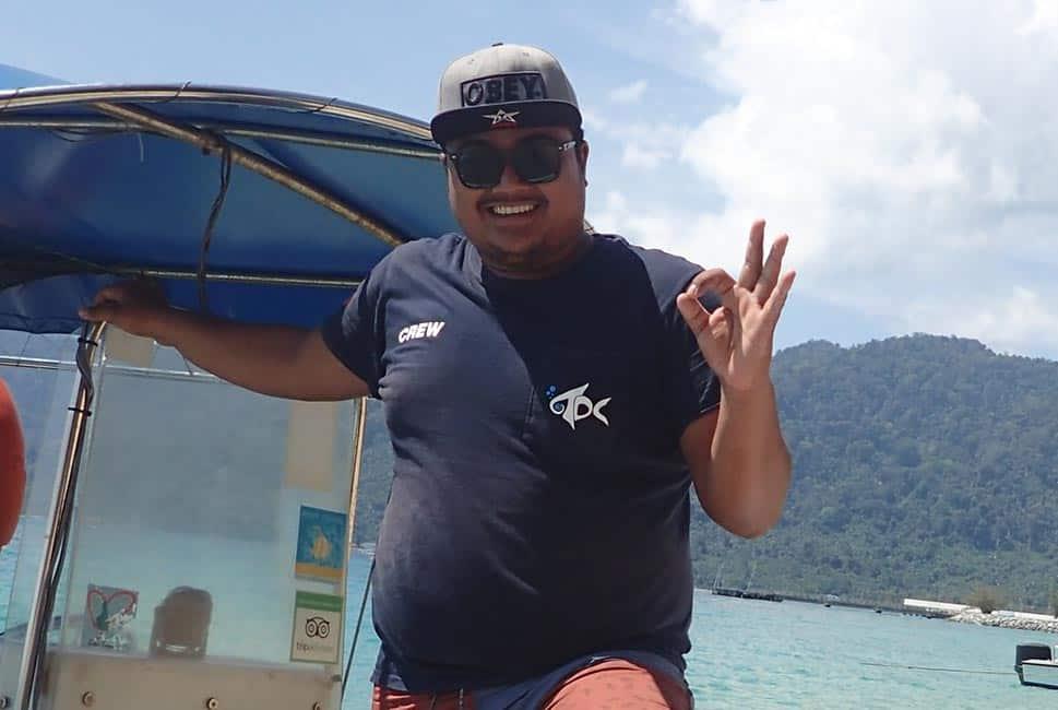 Azrul - Boat Captain